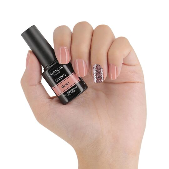 Coffret 6 Vernis Semi-permanent Sweet Pink 8ml MEANAIL PARIS