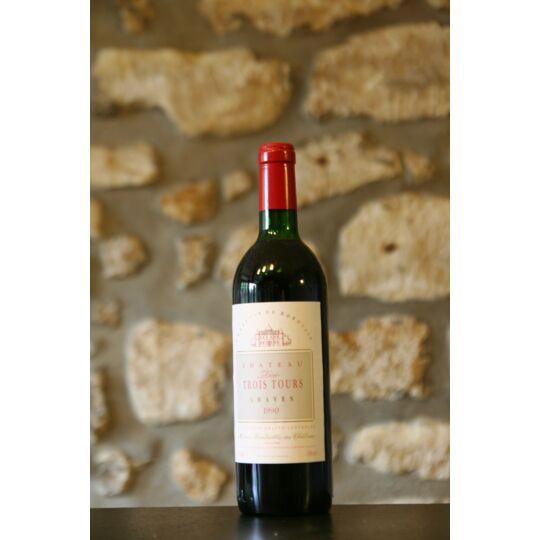 Vin Rouge, Chateau Les Trois Tours 1990
