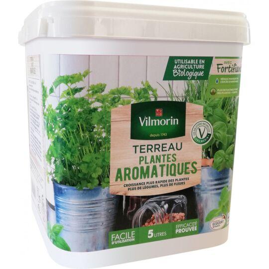 Terreau Pots De Jardinières Aromatiques Seau De 5 Litres VILMORIN