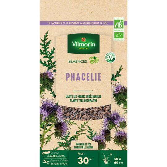 Graines De Phacélie Bio , Sachet De 60 Grs VILMORIN