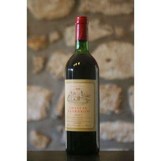 Vin Rouge, Château Peyrabon 1970 1970