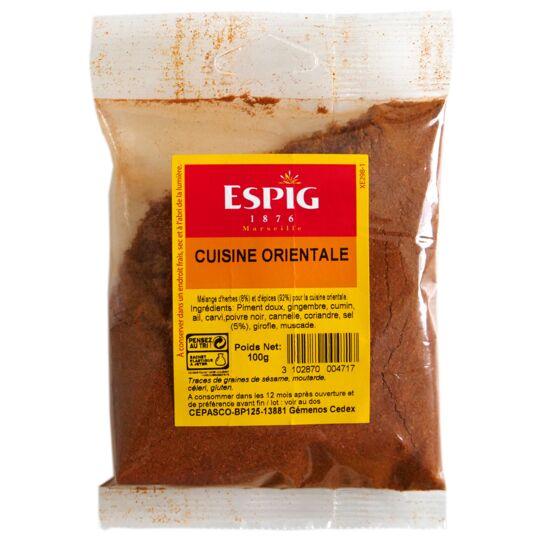 Cuisine Orientale Mélange D'épices Moulues 100g ESPIG