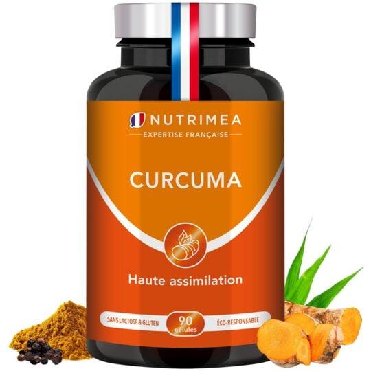 Curcuma - Complément Alimentaire NUTRIMEA
