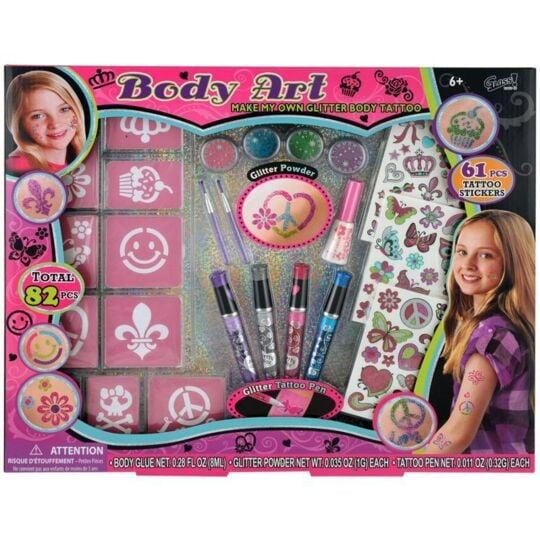 Coffret Cadeau Maquillage Pour Enfant - Spécial Tatouages GLOSS