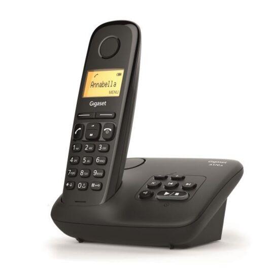 Gigaset Al170a Solo Téléphone Fixe Sans Fil Dect/gap Répondeur Noir