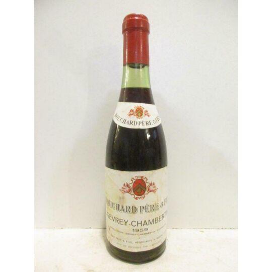 37,5 Cl Gevrey-chambertin Bouchard Père Et Fils (b1) Rouge 1959 - Bourgogne BOUCHARD PÈRE ET FILS
