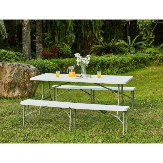 table pliante 180 cm 8 personnes