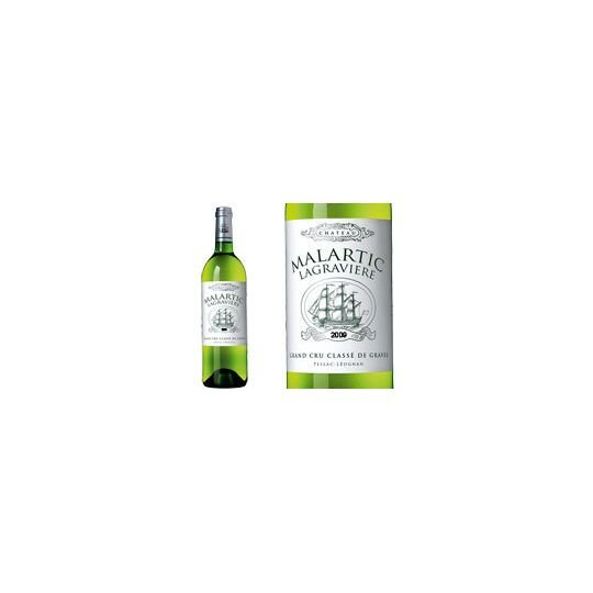 Château Malartic-lagravière Blanc 2009 - Vin  Blanc