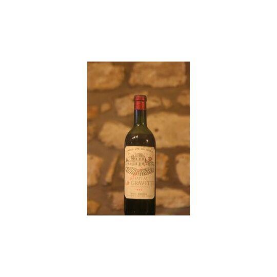 Vin Rouge, Château La Gravette 1964 1964