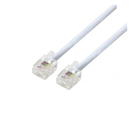 Câble de téléphone - PSTEL03 - Blanc