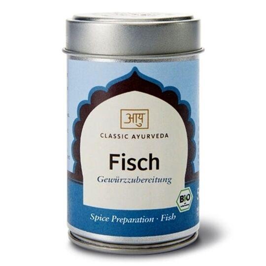 Mélange d'épices indien pour poisson Bio 50g CLASSIC AYURVEDA