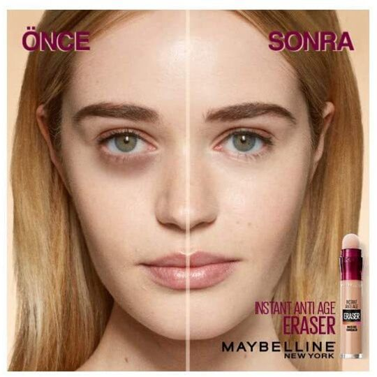 Maybelline Instant Anti-age The Eraser Eye Perfect Cover Concealer Light 6.8 Ml GEMEY MAYBELLINE