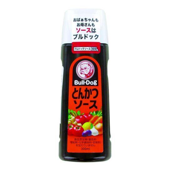 Sauce Japonaise Tonkatsu À Base De Fruits Et De Légumes 300ml - Bull-d 6 Bouteilles BULLDOG