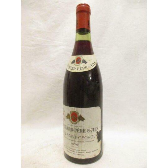 Nuits Saint-georges Bouchard Père Et Fils (étiquette Abîmée) Rouge 1976 BOUCHARD PÈRE ET FILS