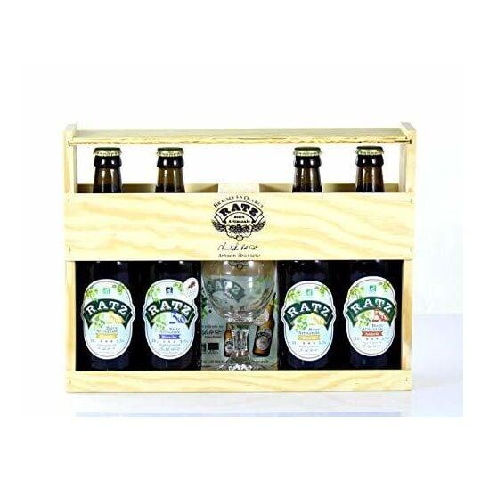 Ratz - Coffret Bières BIO Artisanales - Origine France JEMANGEFRANÇAIS.COM