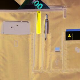 """POSS Sacoche pour ordinateur portable jusqu'à 17.3""""  - PLAYFULH17BK - Noir"""