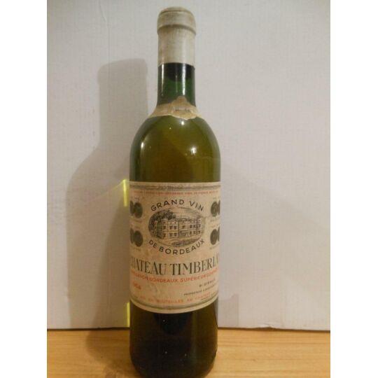 Bordeaux Château Timberlin Blanc 1964 - Bordeaux.
