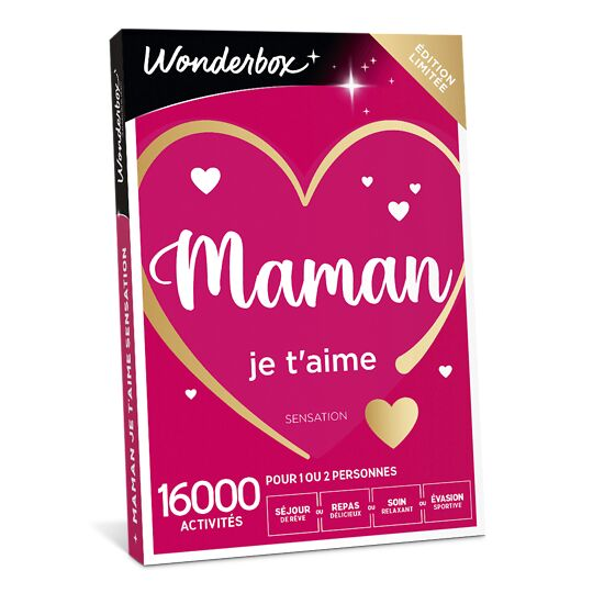 Maman Je T'aime Sensation WONDERBOX
