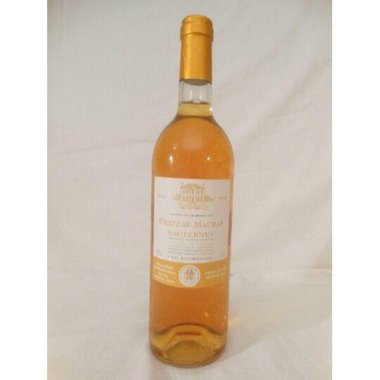 Sauternes Château Mauras Liquoreux 2003 - Bordeaux