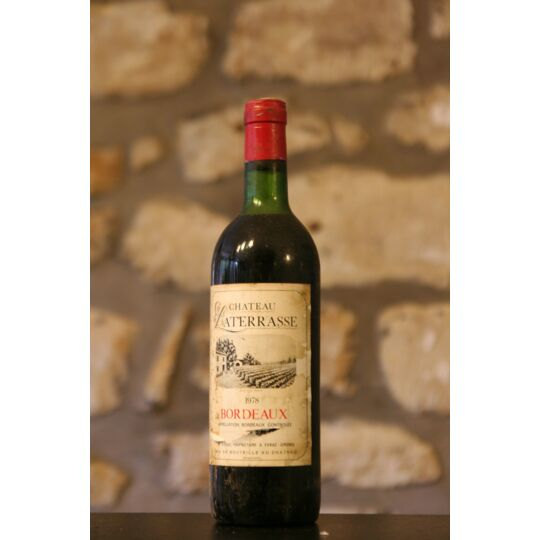 Vin Rouge, Chateau Laterasse 1978