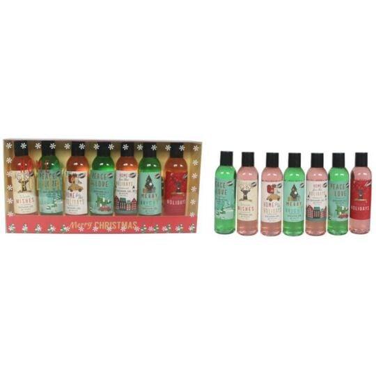 Coffret De Bain De Noël Parfum Fruité De Grenade - 7pcs GLOSS