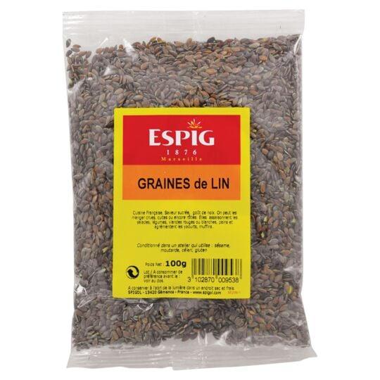 Graines De Lin 100g ESPIG
