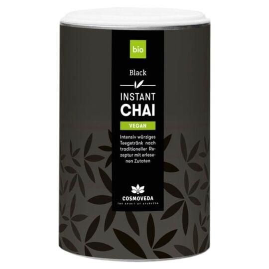 Thé Indien Instantané Chai Latte Noir Bio 200g COSMOVEDA