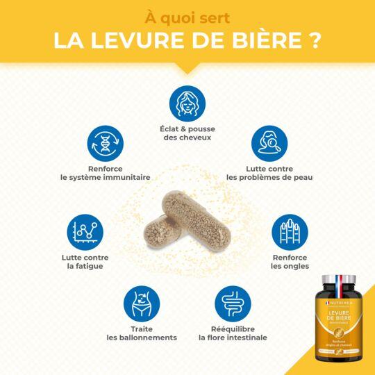Levure de Bière - Complément Alimentaire NUTRIMEA