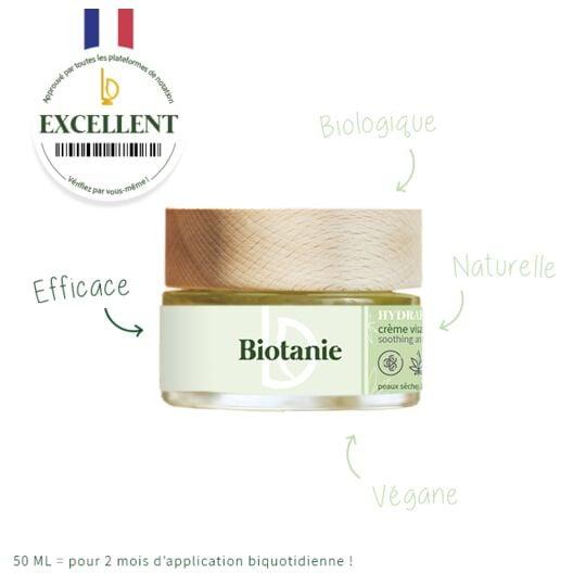 Crème Hydrapaise 30 mL BIOTANIE