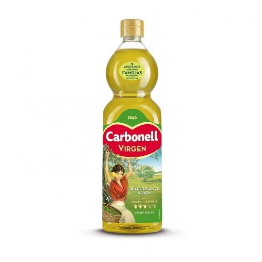 Huile D'olive Espagnole Vierge Carbonell 1 L.