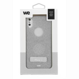 WE Coque de protection paillette pour iPhone X - WECOQPAIIXA - Argent