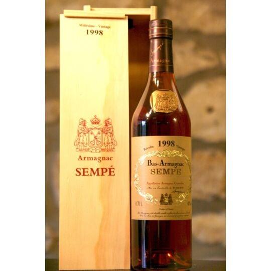 Vin Blanc, Bas Armagnac, Domaine Sempe, 1998