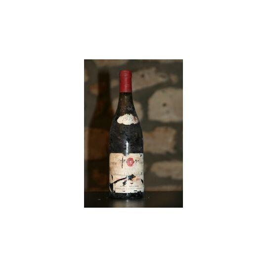 Vin Rouge, Santenay Domaine Adrien Belland, Clos Les Gravieres 1976
