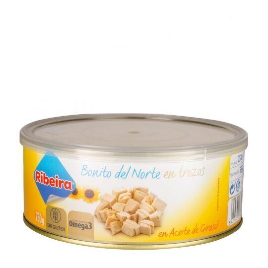 Bonito Del Norte (thon) À L'huile Ribeiro 588 Grs