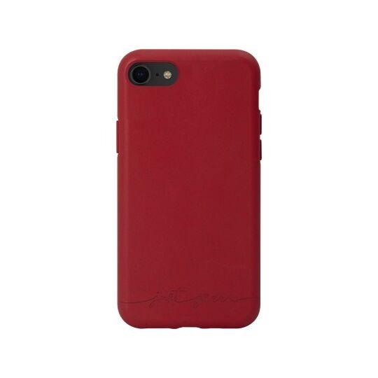Coque souple rouge pour iPhone SE (2020)/8/7/6S/6 Just Green à Prix Carrefour