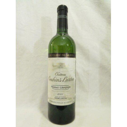 Pessac-léognan Château Couhins-lurton Cru Classé Blanc 2000 - Bordeaux