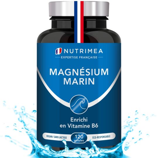 Magnésium Marin et Vitamine B6 - Complément Alimentaire NUTRIMEA