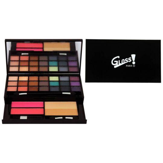 Palette De Maquillage - Visage & Ombres À Paupières Mat Et Shimmer GLOSS