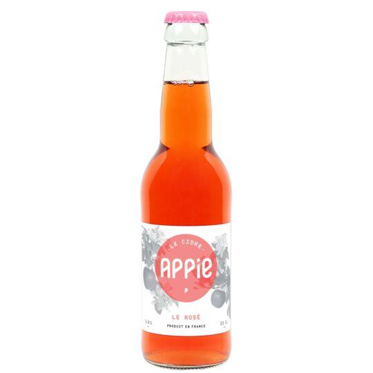 Cidre APPIE - LE ROSÉ (2.9%) - 33cl APPIE