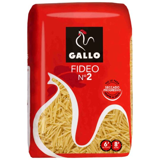 Fideos Fins Pour Fideua Gallo 450 Grs