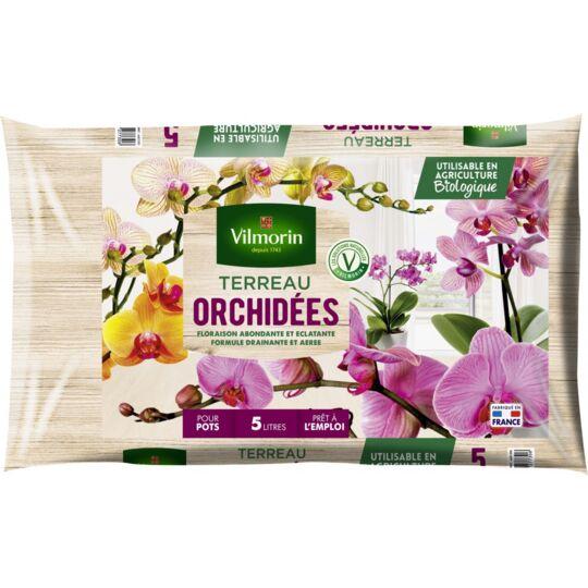 Terreau Orchidées Sac De 5 Litres VILMORIN