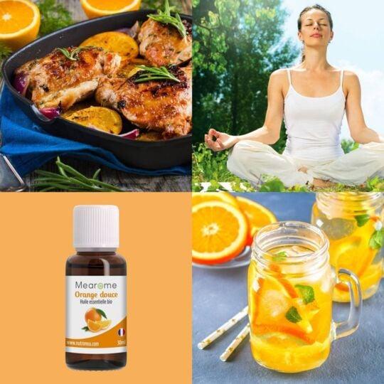 Huile Essentielle d'Orange Douce Bio - 30ml MEAROME