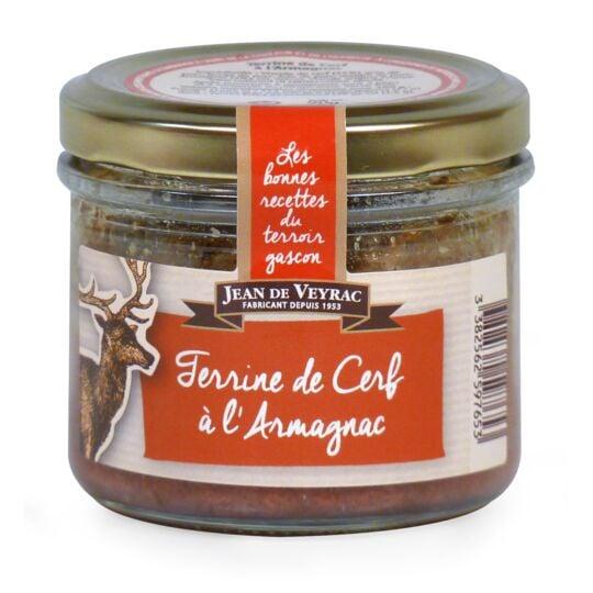 Terrine de Cerf à l'Armagnac JEAN DE VEYRAC
