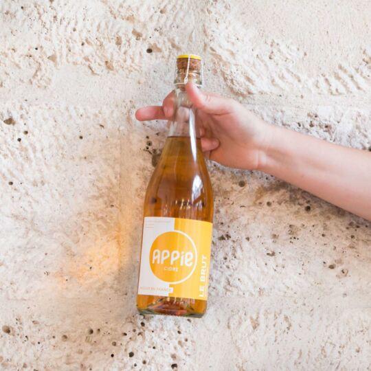 Cidre APPIE - LE BRUT (4.7%) - 75cl APPIE
