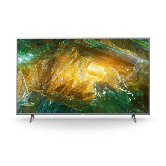 """TV LED 4K HDR - 55"""" 139 cm - KD55XH8077 - Aluminium"""