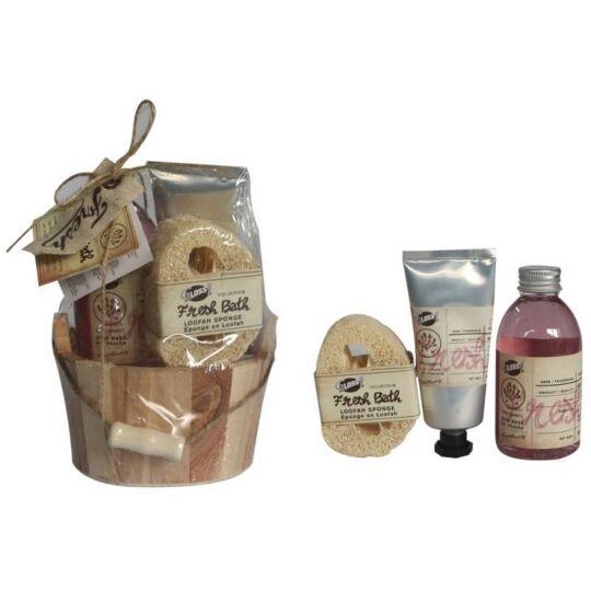 Coffret De Bain Au Parfum Frais De Grenade - 3pcs GLOSS