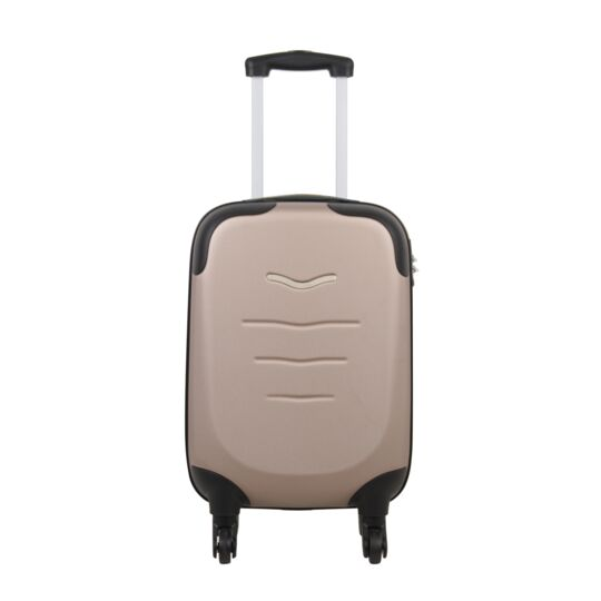 Valise ABS sable 4 roues 53cm