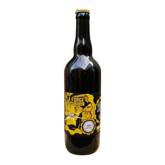 Bière Bio Continental Pale Ale 75cl - La Forge LA RÉPUBLIK DES MOUSSES