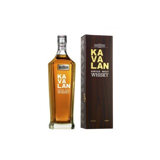 Whisky, Kavalan Single Malt 40%