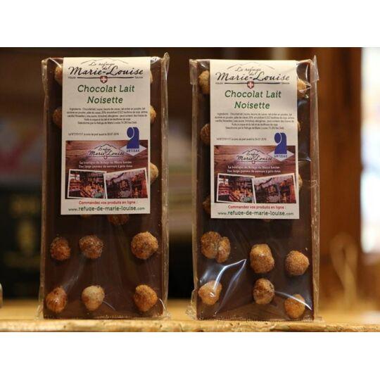 Chocolat De Savoie Au Lait Noisette REFUGE DE MARIE-LOUISE